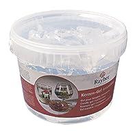 """Rayher gel à bougie boîte de 2 kg, environ 2500 ml €"""" gel incolore pour la fabrication de bougie à décorer ou costumiser selon vos envies €"""" matériel pour fabriquer des bougies €"""" transparent"""