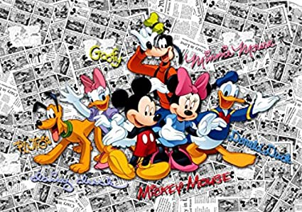 Image Unavailable. Image not available for. Color: Mickey Mouse Poster Photo Wallpaper - Minnie ...