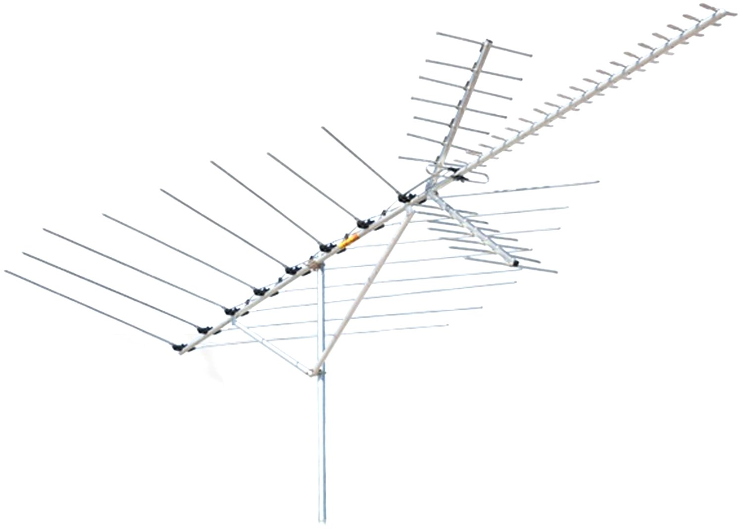 Channel Master Cm 3020 Long Range Vhf Uhf Fm And Hdtv Antenna Rotor Wiring On Diagram Home Audio Theater