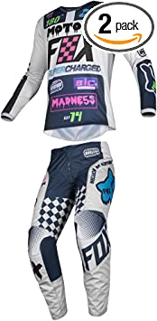 Fox Racing 2019 YOUTH 180 COTA Jersey and Pants Combo Offroad Riding Gear Blue Medium Jersey//Pants 24W