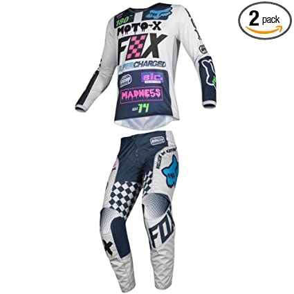 Fox Racing 2019 YOUTH 180 COTA Jersey and Pants Combo Offroad Riding Gear Black Large Jersey//Pants 26W