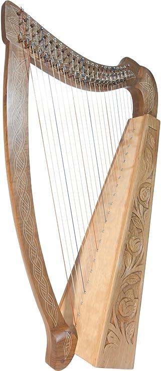 Roosebeck Celtic Heather Harp 22-String