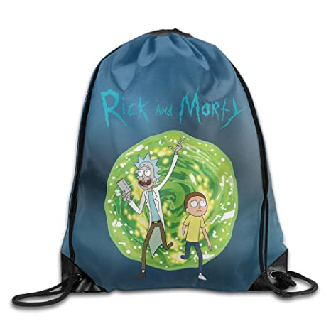 Gimnasio Sackpack Rick y Morty blanco talla única