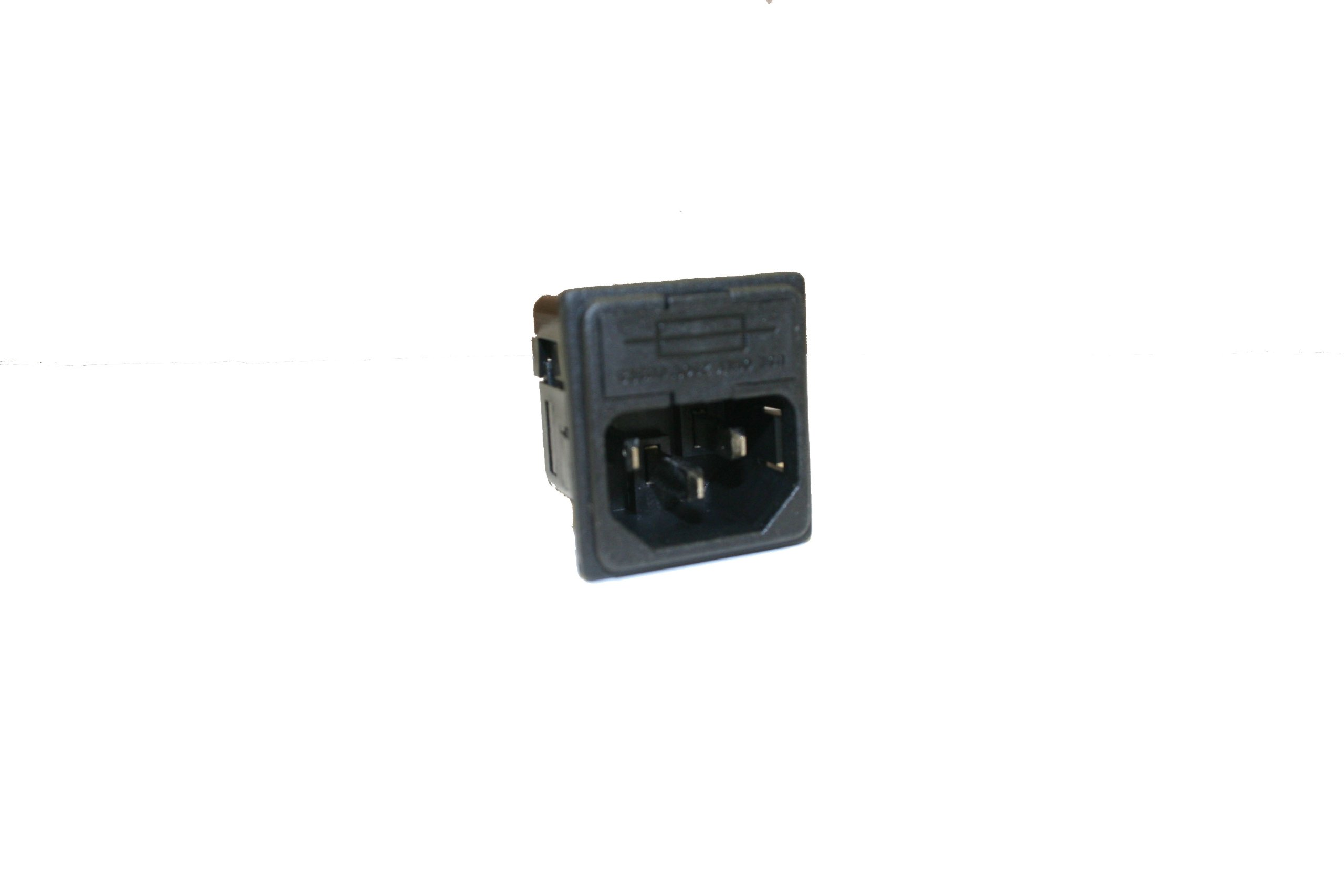 Interpower 83110141 Two Function Single Fused Power Entry Module, C14 Inlet, Single Fused, 10A Current Rating, 250VAC Voltage Rating by Interpower