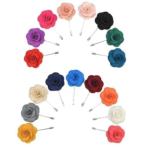 Soleebee Ym007 Ansteckblumen Gemischt Zufällig Herren Klassisch