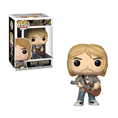 Funko Pop! Rocks: Kurt Cobain Nirvana - MTV's Unplugged 1993 Limited Edition Vinyl Figure - FYE Exclusive: Toys & Games