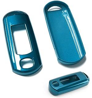Amazon.com: podoy Flip Shell caso clave 3 Botón para Mazda 3 ...