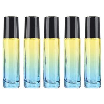 Amazon.com: Botellas de metal de 10 ml de cristal, gruesas ...