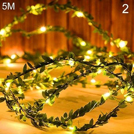 LED String Copper Wire Fairy Lights Battery USB 12V Xmas