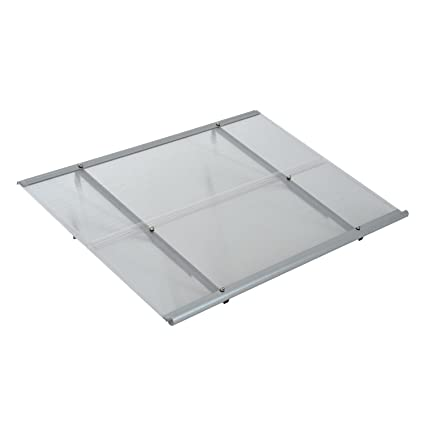 Amazon Outsunny 48 X 33 Polycarbonate Exterior Overhead Patio