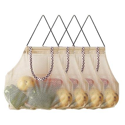 Danolt Bolsas de la Compra Reutilizables, 4 Pack Bolsa de ...