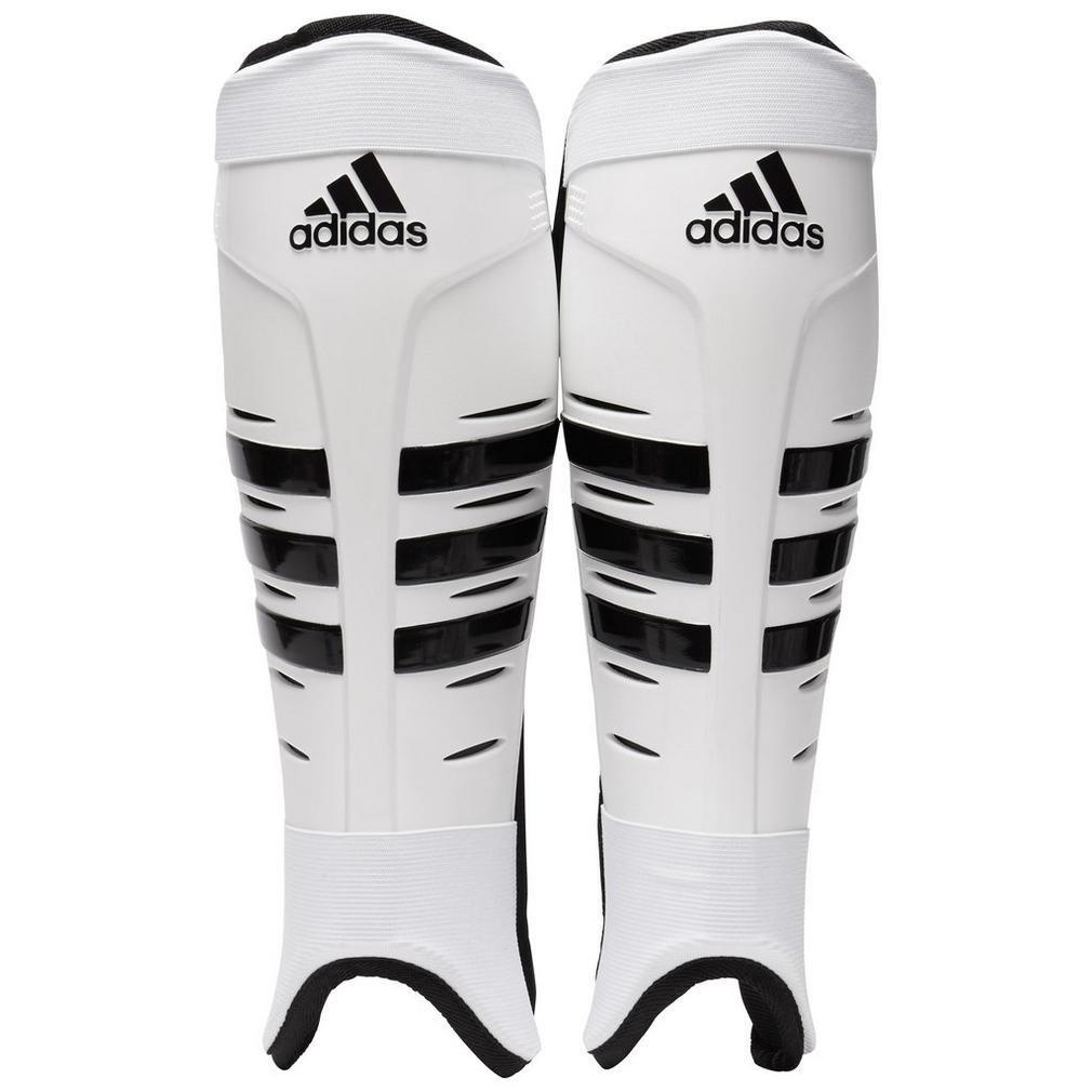 Adidas Protège-Tibias de Hockey, Naturel, XS
