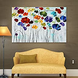 ArtWall Jolina Anthony \'Lilies\' Gallery Wrapped Canvas Artwork, 36 by 48-Inch