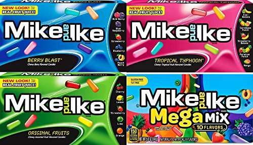 mike-and-ike-4-flavor-variety-bundle-tropical-typhoon-berry-blast-original-mega-mix-5-oz-pack-of-4