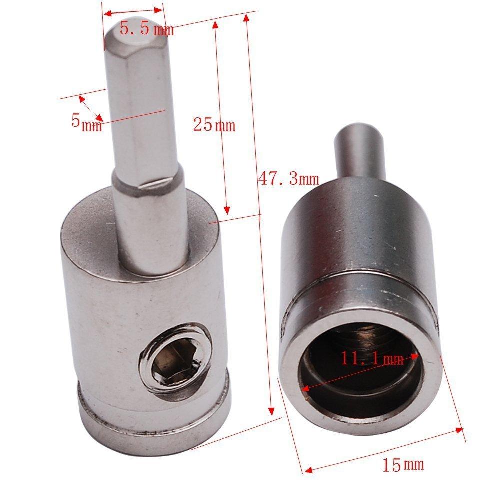Pair of Car Audio 4 Gauge to 8 Gauge Amp Input Reducers