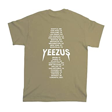 fbfaa8538da2 Cristees Design Yeezus Tour Tan T-Shirt - Yeezy - Yeezus Merch (Small,