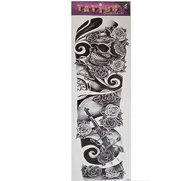 Just Fox – temporäres Tattoo Diseño Rose tatuaje calavera Cuerpo ...