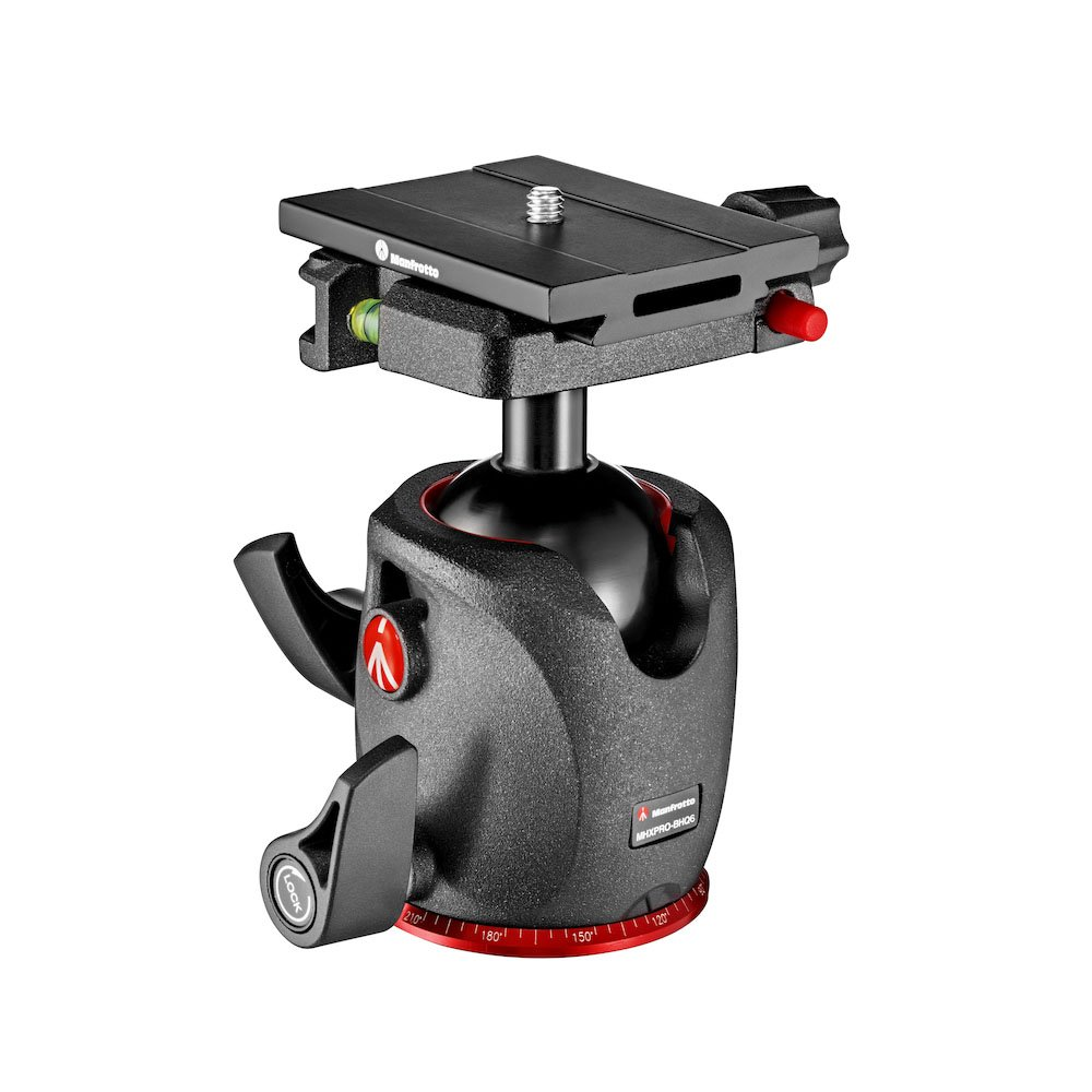 MANFROTTO XPRO BALL HEAD WITH QUICK RELEASE MSQ6PL PLATE MHXPRO-BHQ6 MAP94