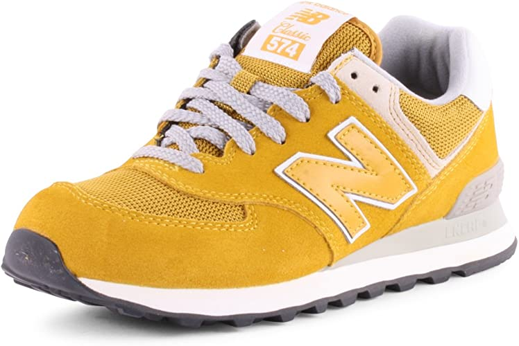 basket new balance jaune enfant 29