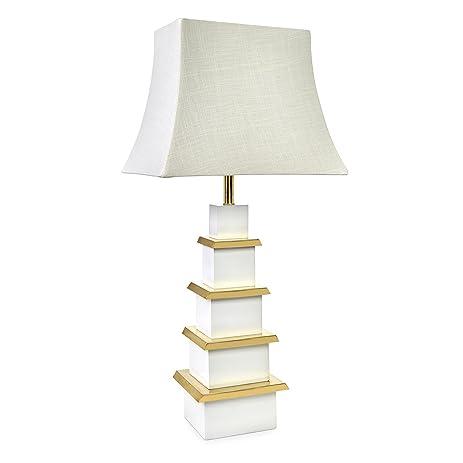 Amazon jonathan adler pagoda table lamp home kitchen jonathan adler pagoda table lamp aloadofball Gallery