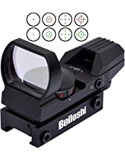 Beileshi Red and Green Reflex Sight with 4 Reticles by Beileshi