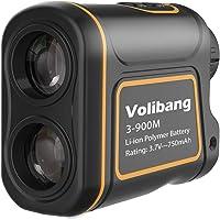 Volibang Golf RangeFinder, 3-1000 Yard 7x Multifunction Golf Hunting Range Finder Speed Measurer Rechargeable Multifunctional Distance Meter for Distance, Speed, Angle and Altitude Measurement