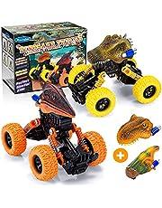 Toyzey Speelgoed voor 2 3 4 5 6 jaar oude jongens, dinosaurus speelgoed voor jongens grappige geschenken voor 2-8 jaar oude jongens meisjes speelgoed auto's voor 2-8 jaar oud outdoor speelgoed voor kinderen festival presenteert speelgoed leeftijd 2-8