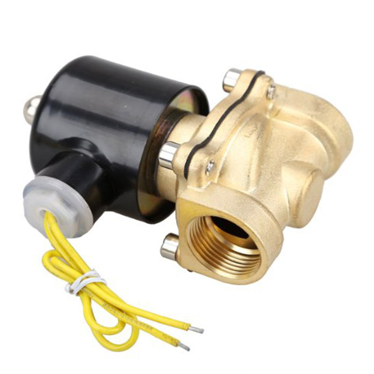 HSH-Flo Brass 1/4' DN8 12VDC NPT 2 Way Normally Closed Electrical Solenoid Valve