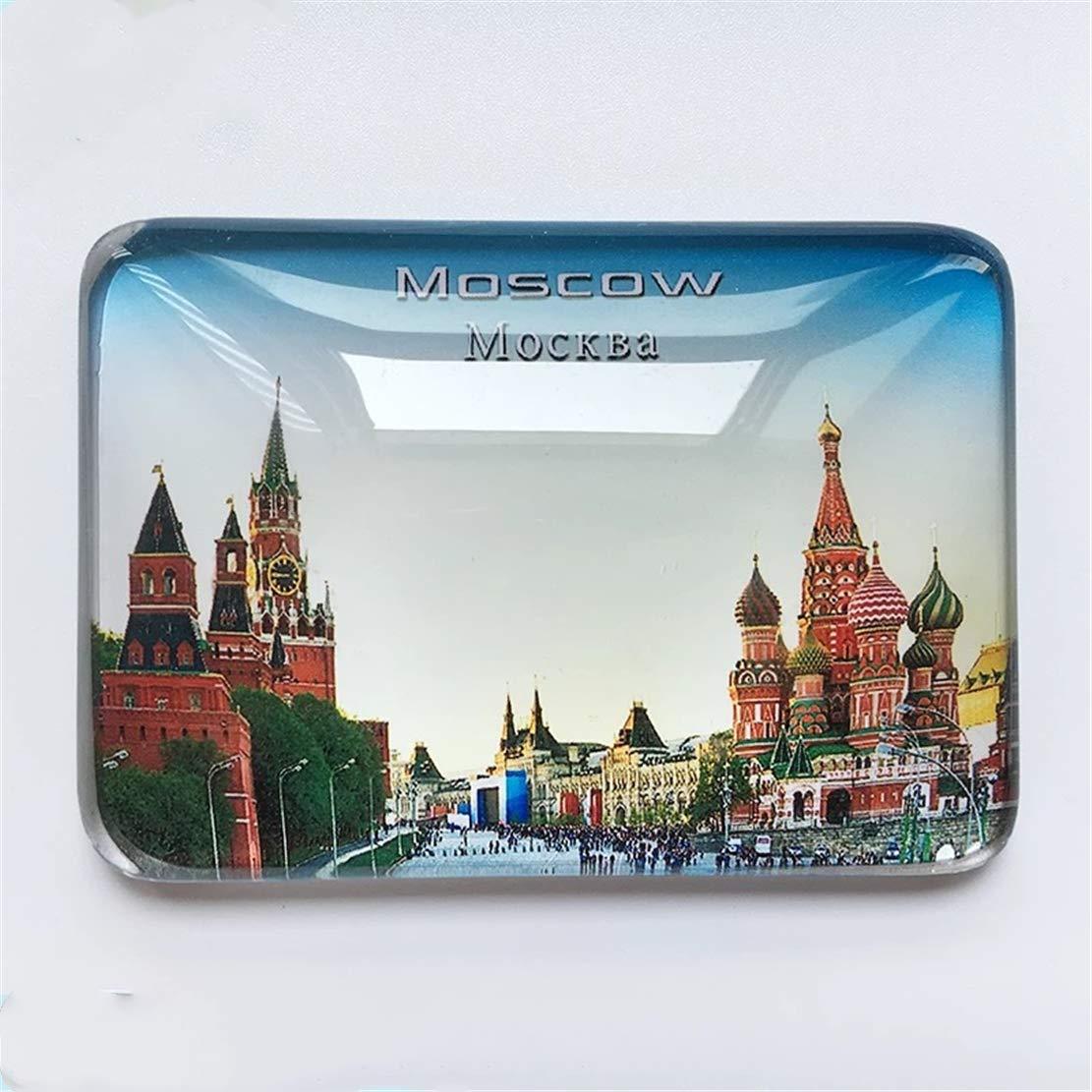 Weekinglo Souvenir Plaza Roja Moscú Rusia Imán de Nevera Ciudad ...