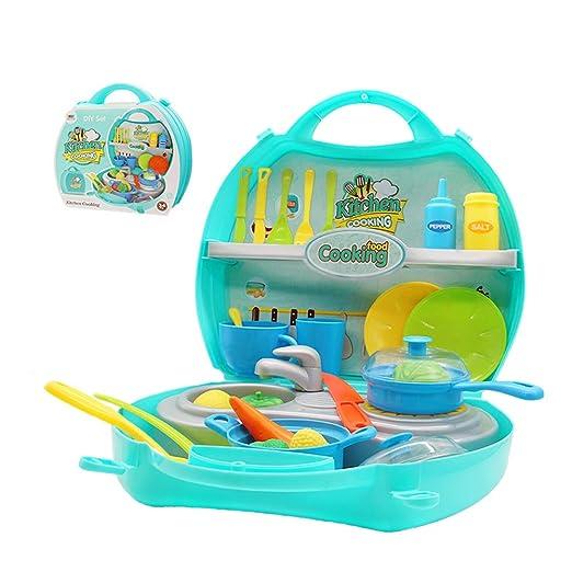 Küchen Spielzeug Set Küche Kochen Spielzeug Kleinkinder Rollenspiele ...