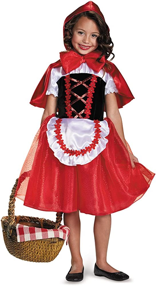 Girls Storybook Lil Red Riding Hood Costume