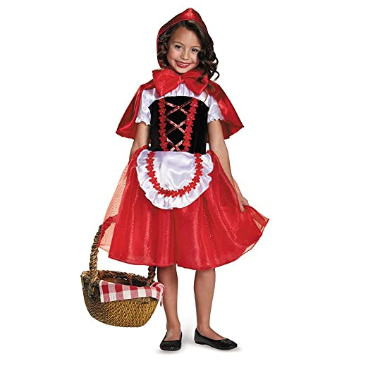 b445fb0bf232d Amazon.com: Girls Storybook Lil Red Riding Hood Costume: Toys & Games