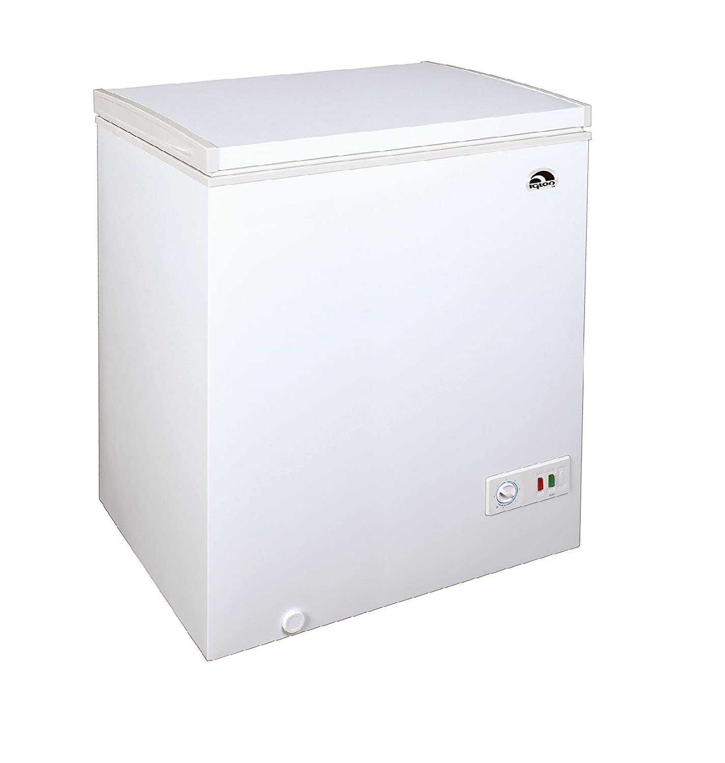 Igloo Chest Freezer (5.1 cu. ft.) White