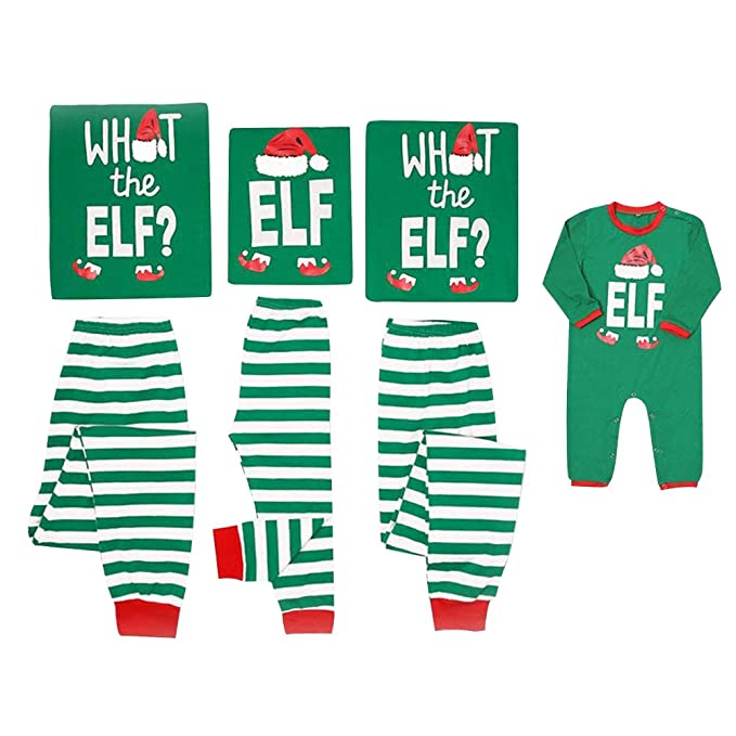 Pijamas Dos Piezas Familiares de Navidad Conjuntos Navideños ...