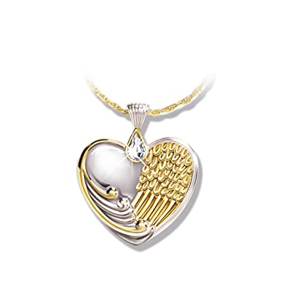 'Window To My Heart' Pendant By The Bradford Exchange AaBdsE