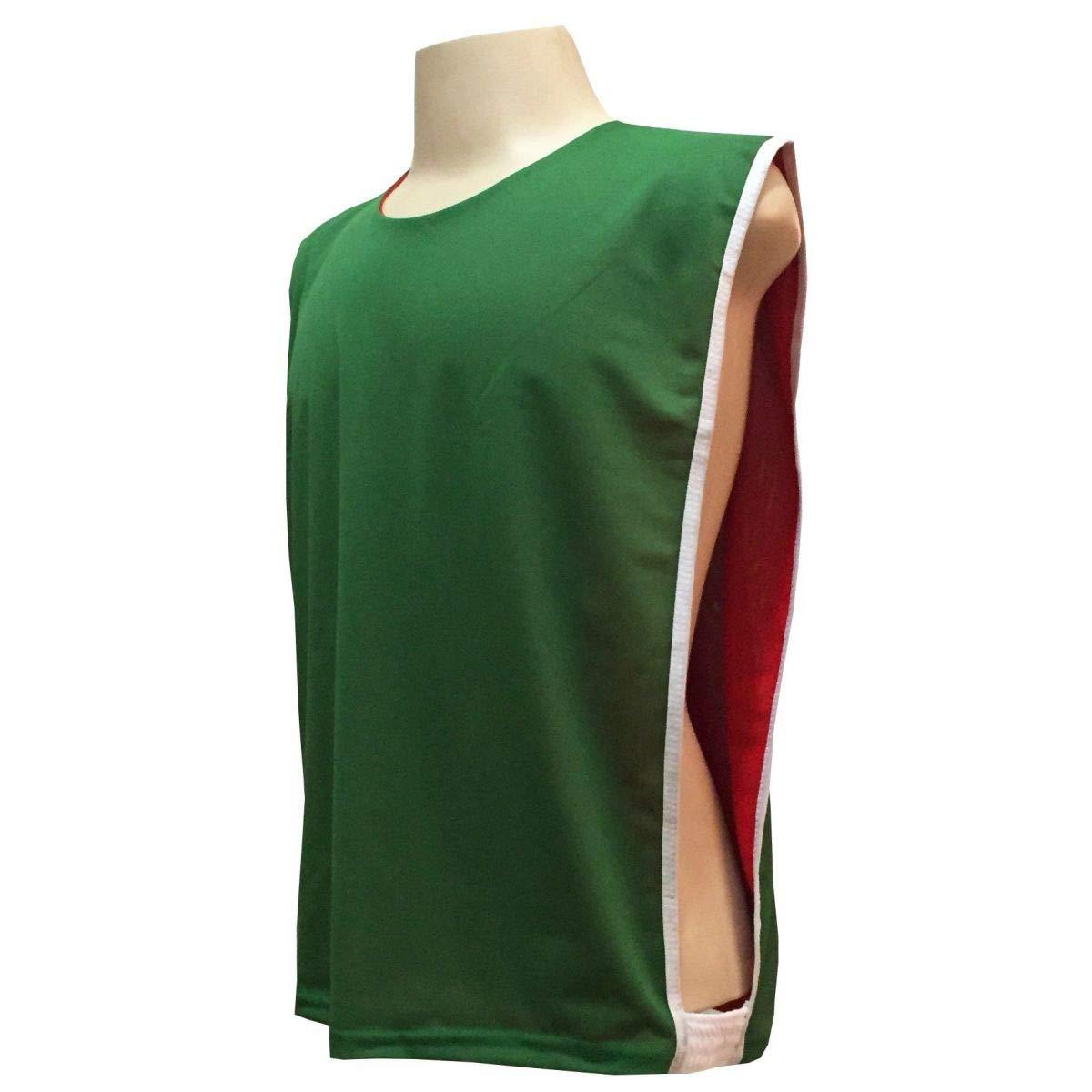 cc92ffcec9 Colete Dupla Face na cor Verde Vermelho  Amazon.com.br  Esportes e Aventura