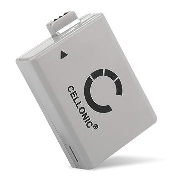 CELLONIC® Batería Premium Compatible con Canon EOS 1000D EOS 500D EOS 450D EOS Rebel XS (1020mAh) LP-E5 bateria de Repuesto, Pila reemplazo, ...