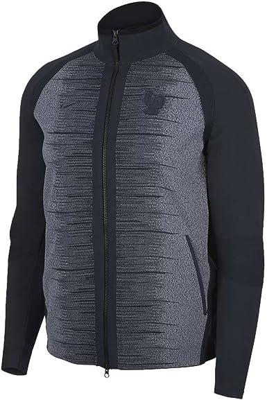 Doncella Manuscrito Deducir  Amazon.com: Nike 2018-2019 France Tech Knit Jacket (Obsidian): Clothing