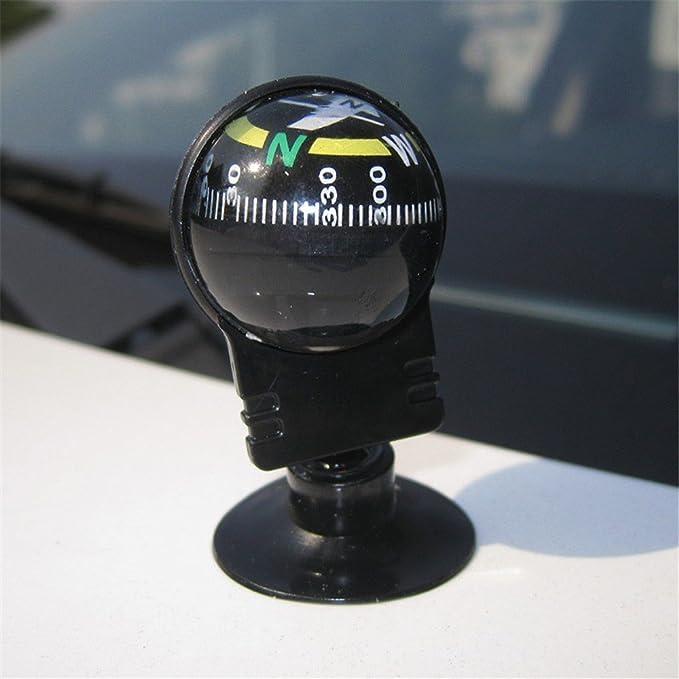 JISHUQICHEFUWU Suministros de automoción/guías de Coche/Tipo de succión de rotación de 360 ??Grados/Bola de guía del Coche/brújula automotriz: Amazon.es: ...