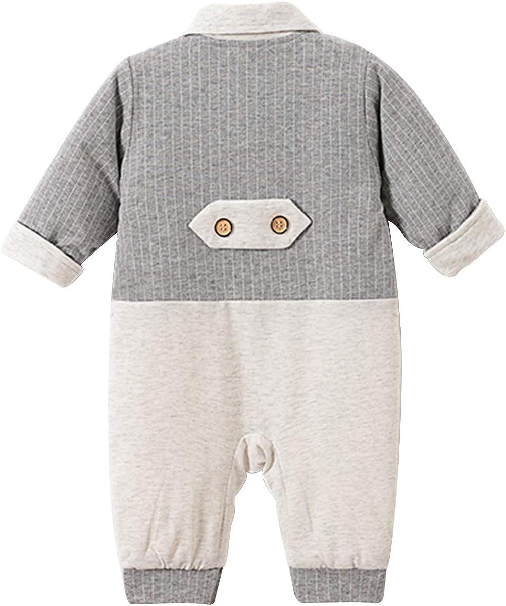 Famuka Baby Jungen Anzug Smoking Festanzug Taufe Hochzeit Babykleidung