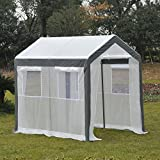 Outsunny 8' x 6' x 7' Heavy Duty Walk In Greenhouse