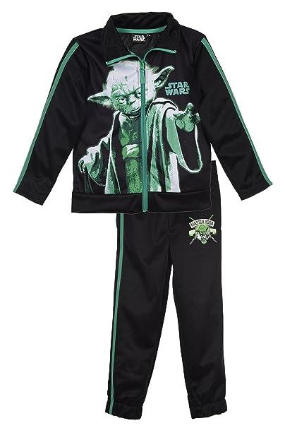 Star Wars Niños con Licencia Chándal para Verde 4 Años (104 cm ...