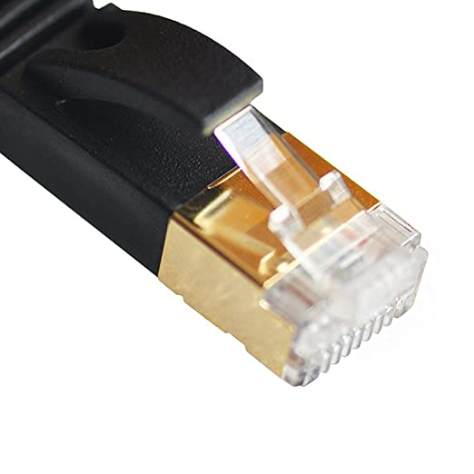 122 opinioni per Vandesail® Cavo di rete Cat7 Cavo Patch Ethernet STP SSTP LAN Internet Gigabit