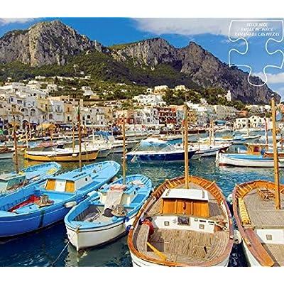 Scenic Photography Capri Puzzle - 300Piece: Toys & Games