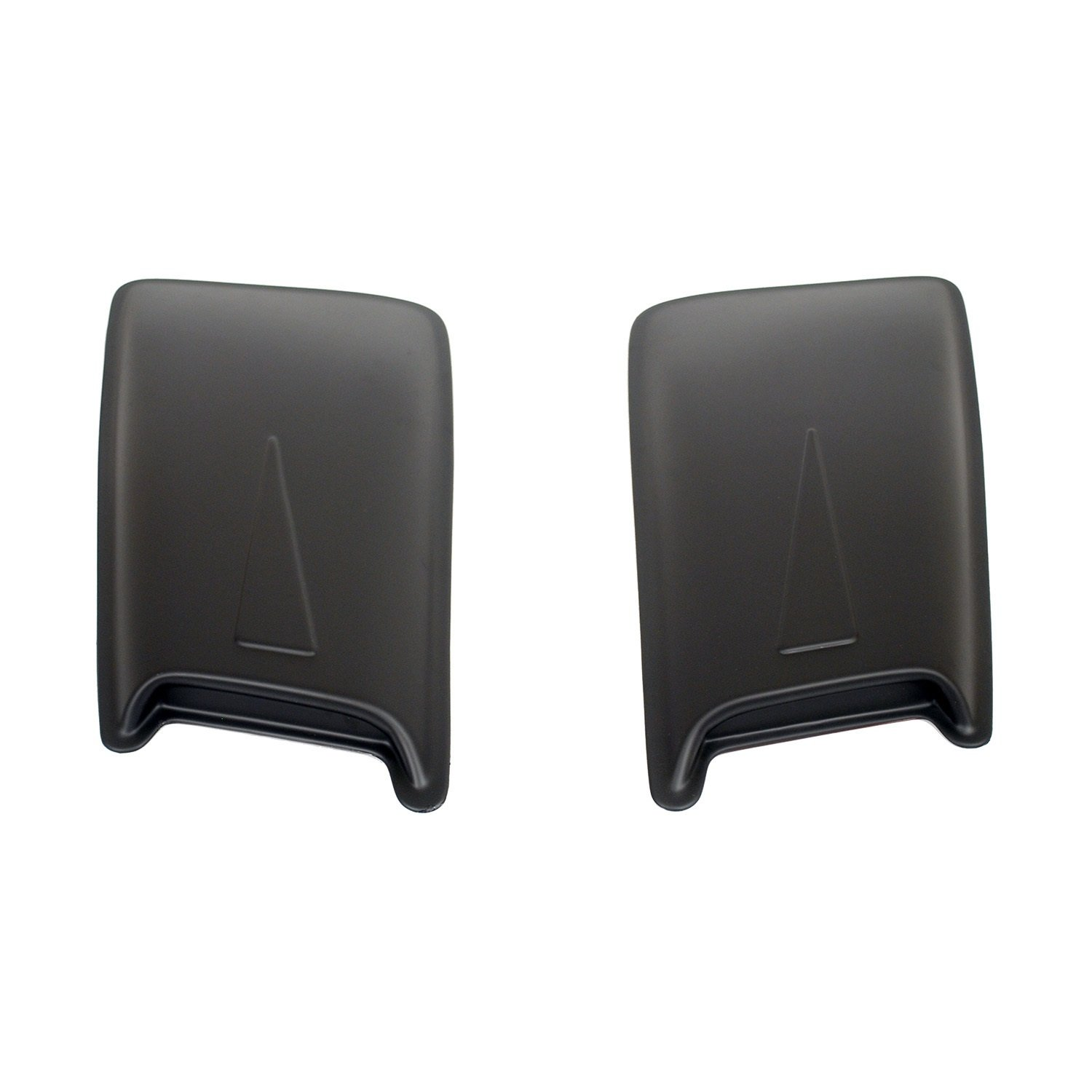 Wade 72-13012 24' Paintable Hood Scoops With Racing Accent  - Pack of 2 Westin 72-3012