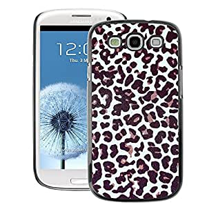 A-type Arte & diseño plástico duro Fundas Cover Cubre Hard Case Cover para Samsung Galaxy S3 (Fur Pattern Dots Animal Fashion)