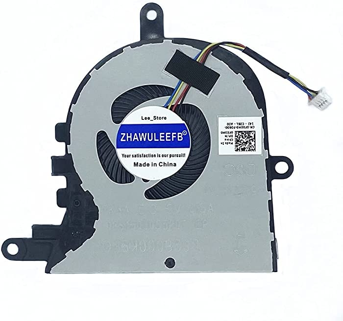 Lee_store CPU Cooling Fan for Dell Latitude 3590 E3590 Dell Inspiron 17-3780 3793 5770 15-3580 3581 3593 Dell Vostro 3590 Series Laptop Cooler