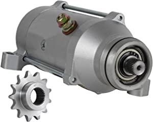 Rareelectrical NEW 12V STARTER MOTOR COMPATIBLE WITH 76-79 HONDA GOLDWING GL1100 31200-371-505 31200371505