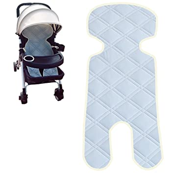 Alyer Touch Cooling Technology Baby Car Seat Liner Comfortable Stroller Cushion Pad Infant