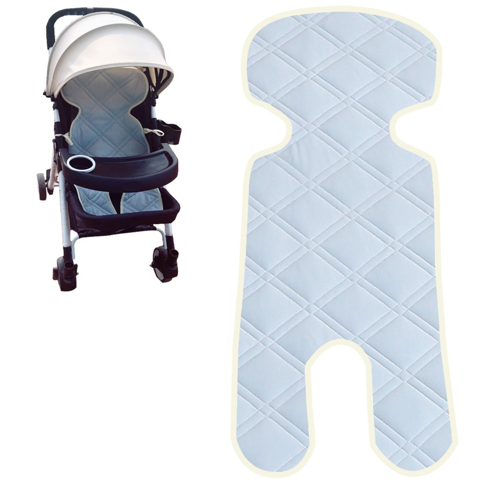 ALYER Touch-Cooling Technology Baby Car Seat Liner,Comfortable Stroller Cushion/Pad,Infant Highchair Mat